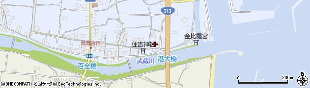 大分県国東市武蔵町古市384周辺の地図