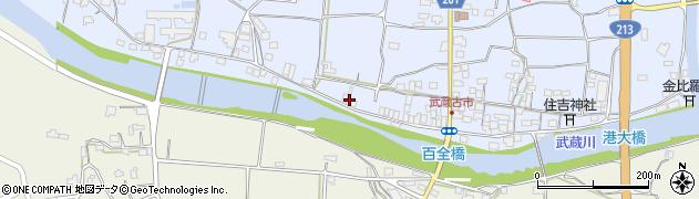 大分県国東市武蔵町古市640周辺の地図