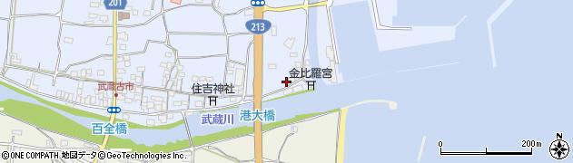 大分県国東市武蔵町古市427周辺の地図