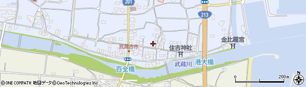 大分県国東市武蔵町古市493周辺の地図