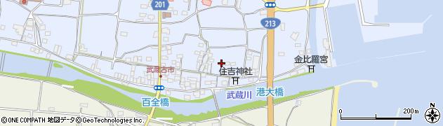 大分県国東市武蔵町古市473周辺の地図