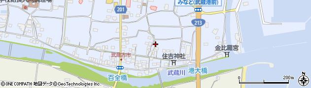 大分県国東市武蔵町古市477周辺の地図