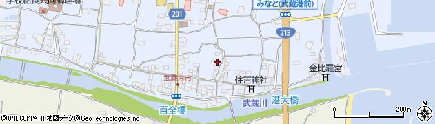 大分県国東市武蔵町古市486周辺の地図
