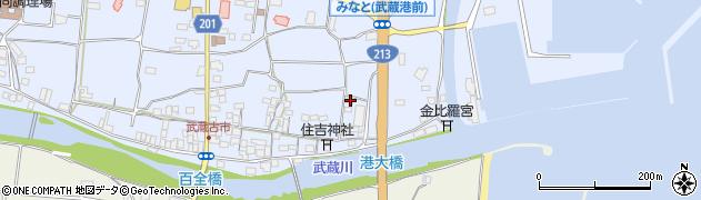 大分県国東市武蔵町古市455周辺の地図