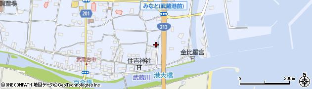 大分県国東市武蔵町古市13周辺の地図
