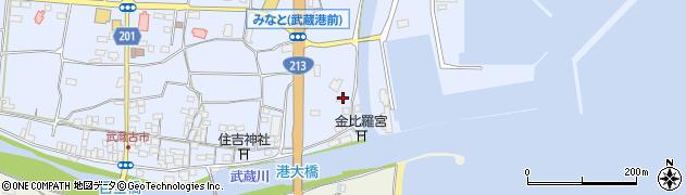 大分県国東市武蔵町古市406周辺の地図