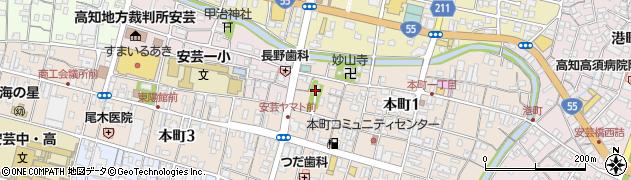東浜八幡宮周辺の地図