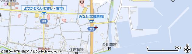 大分県国東市武蔵町古市23周辺の地図