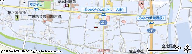 大分県国東市武蔵町古市97周辺の地図