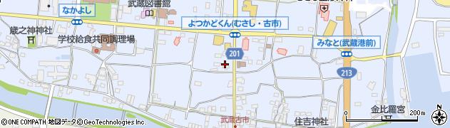 大分県国東市武蔵町古市100周辺の地図