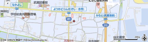 大分県国東市武蔵町古市107周辺の地図