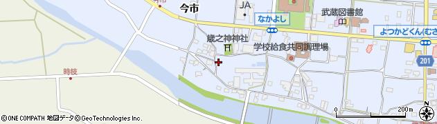 大分県国東市武蔵町古市726周辺の地図