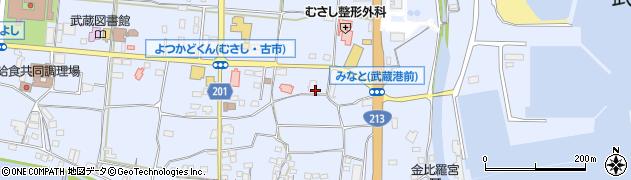 大分県国東市武蔵町古市116周辺の地図