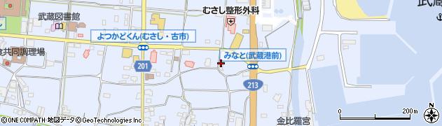 大分県国東市武蔵町古市118周辺の地図