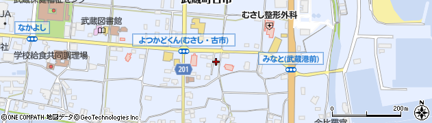 大分県国東市武蔵町古市111周辺の地図