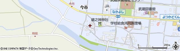 大分県国東市武蔵町古市802周辺の地図