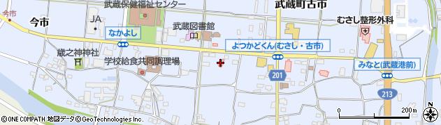 大分県国東市武蔵町古市89周辺の地図