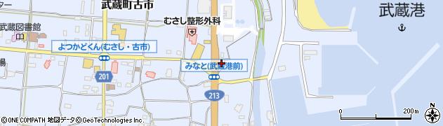 大分県国東市武蔵町古市126周辺の地図