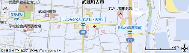 大分県国東市武蔵町古市109周辺の地図