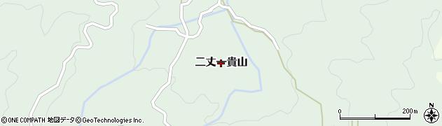 福岡県糸島市二丈一貴山周辺の地図