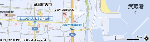 大分県国東市武蔵町古市134周辺の地図