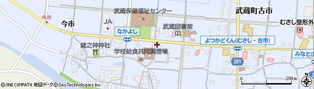大分県国東市武蔵町古市1122周辺の地図
