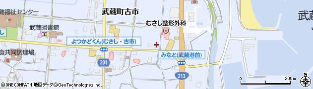 大分県国東市武蔵町古市151周辺の地図