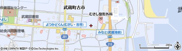 大分県国東市武蔵町古市152周辺の地図