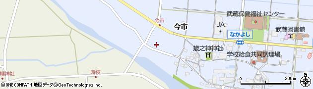 大分県国東市武蔵町古市804周辺の地図