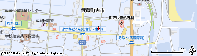 大分県国東市武蔵町古市165周辺の地図