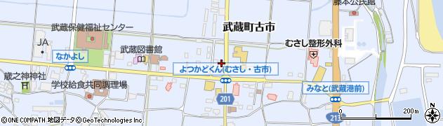 大分県国東市武蔵町古市167周辺の地図