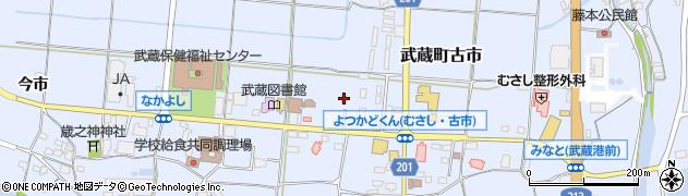 大分県国東市武蔵町古市1789周辺の地図