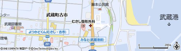 大分県国東市武蔵町古市193周辺の地図