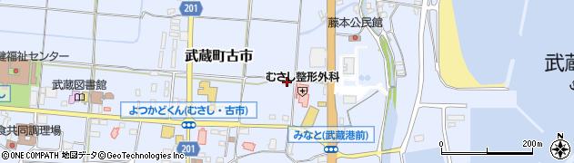 大分県国東市武蔵町古市149周辺の地図