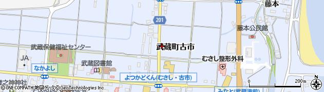 大分県国東市武蔵町古市198周辺の地図