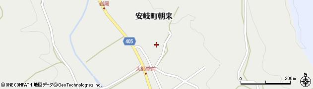 大分県国東市安岐町朝来2928周辺の地図