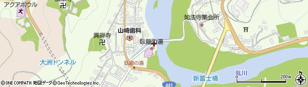 水天宮周辺の地図