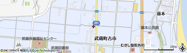 大分県国東市武蔵町古市194周辺の地図