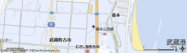 大分県国東市武蔵町古市237周辺の地図
