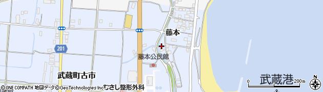 大分県国東市武蔵町古市383周辺の地図