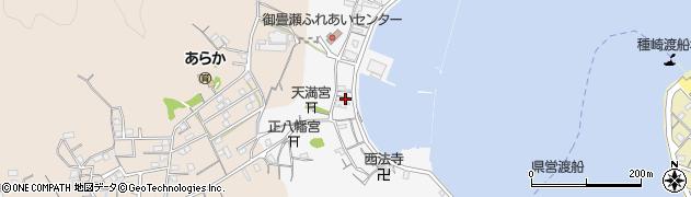 高知県高知市御畳瀬周辺の地図