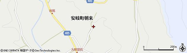 大分県国東市安岐町朝来3516周辺の地図