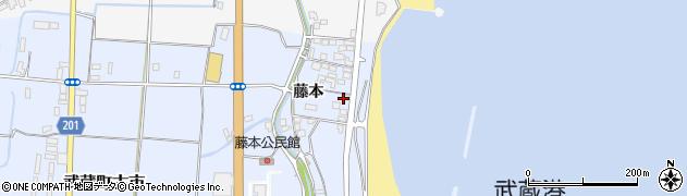 大分県国東市武蔵町古市418周辺の地図