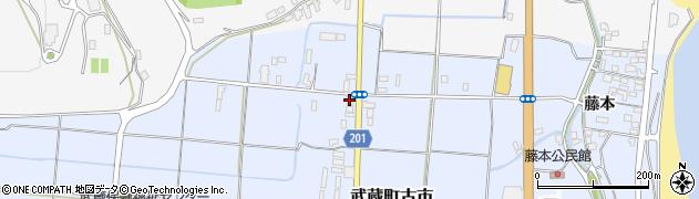 大分県国東市武蔵町古市290周辺の地図