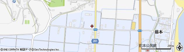 大分県国東市武蔵町古市318周辺の地図