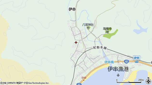 〒649-4124 和歌山県東牟婁郡串本町伊串の地図