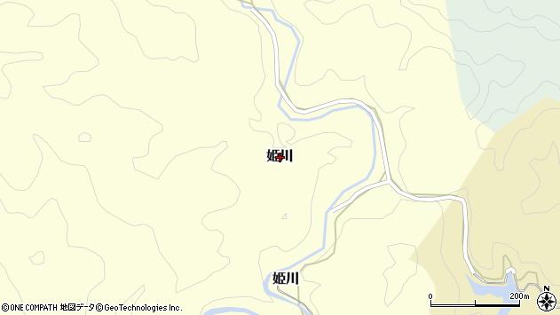 〒649-4126 和歌山県東牟婁郡串本町姫川の地図