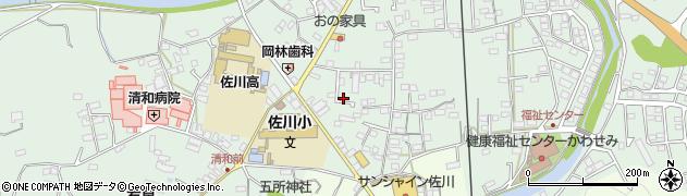 高知県高岡郡佐川町乙中本町周辺の地図