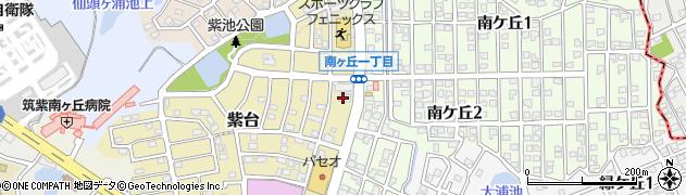 英進館南ヶ丘校周辺の地図