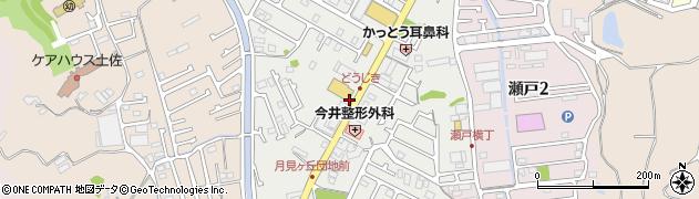 高知県高知市瀬戸南町周辺の地図